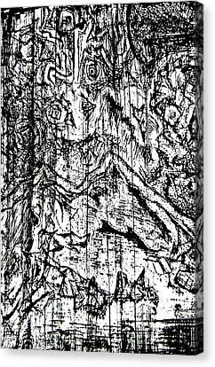 Dice Canvas Print by Jera Sky