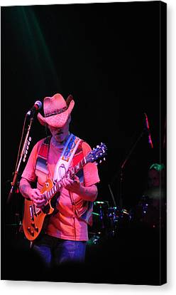 Dickie Betts Canvas Print by Mike Martin