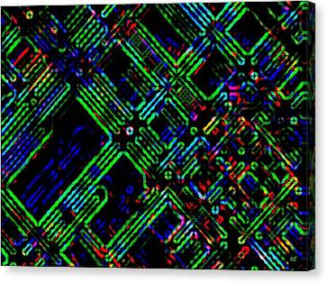 Diffusion Component Canvas Print by Will Borden