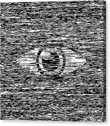 Digital Eye  Canvas Print by Igor Kislev