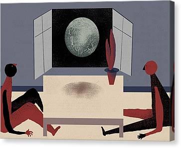 Digress Canvas Print by Benjamin Gottwald