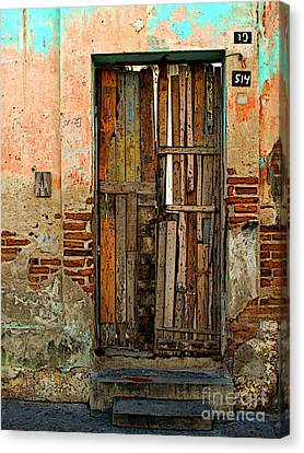 Dilapidated Canvas Print by Mexicolors Art Photography