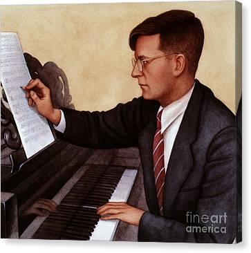 Dimitri Shostakovich Canvas Print by Granger