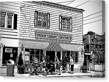 Dinah Lingos Grocery Canvas Print by Jost Houk