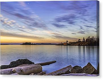 Dinner Island Canvas Print by Thomas Ashcraft