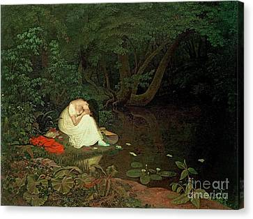 Disappointed Love Canvas Print by Francis Danby