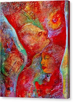 Disassembled Canvas Print by Claudia Fuenzalida Johns