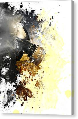 Disaster Of War And Gas Canvas Print by Jorgo Photography - Wall Art Gallery