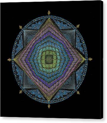 Divine Masculine Energy Canvas Print by Keiko Katsuta