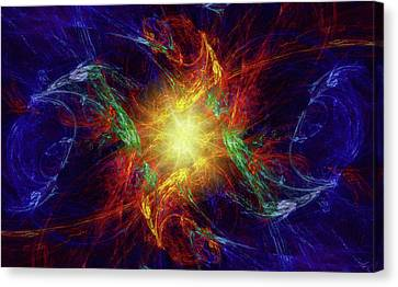 Divine Moment Canvas Print by Kenneth Armand Johnson