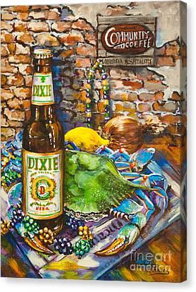 Dixie Love Canvas Print by Dianne Parks
