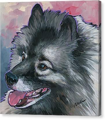 Dixie Canvas Print by Nadi Spencer