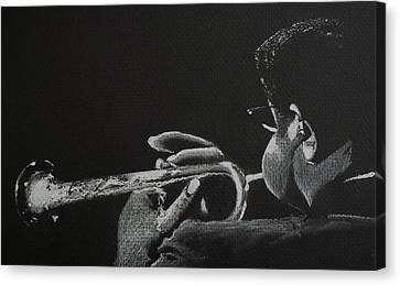 Dizz Canvas Print by Nick Young