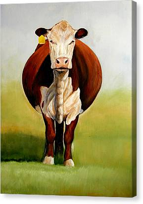 Do I Look Fat Canvas Print by Toni Grote