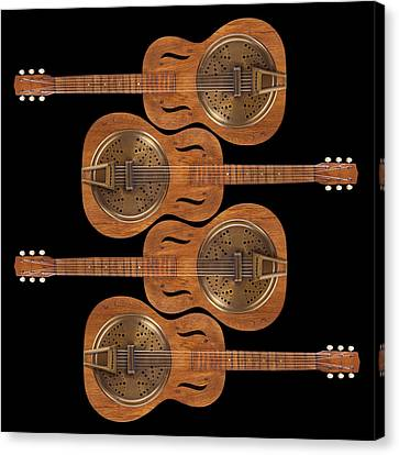 Dobro 5 Canvas Print by Mike McGlothlen