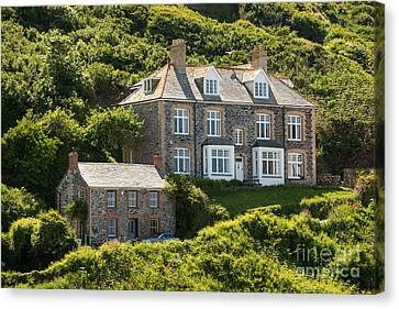 Doc Martin's Surgery Canvas Print by Amanda And Christopher Elwell