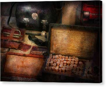 Doctor - Everything You Need To Be A Doctor Canvas Print by Mike Savad