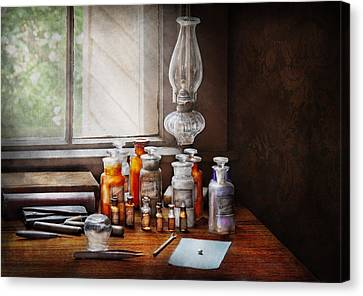 Doctor - The Doctor Is In Canvas Print by Mike Savad