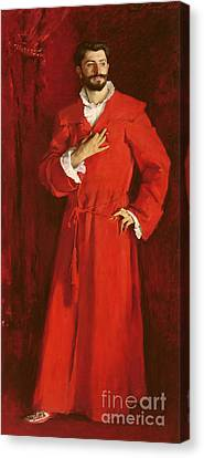 Doctor Pozzi At Home, 1881 Canvas Print by John Singer Sargent