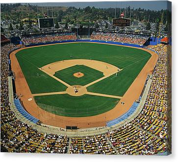 Dodger Stadium Canvas Print by Panoramic Images