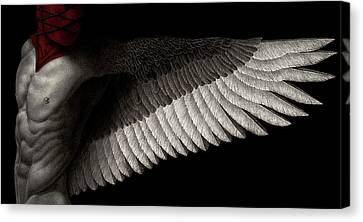 Dogma Canvas Print by Pat Erickson