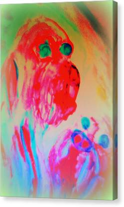 Dogs Are More Human Than Many People   Canvas Print by Hilde Widerberg