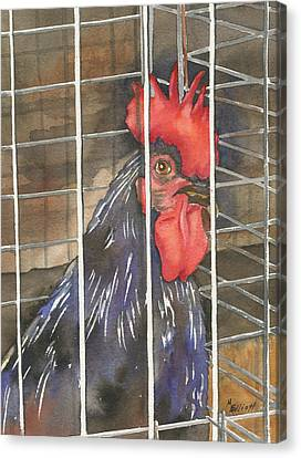 Doin Time Canvas Print by Marsha Elliott