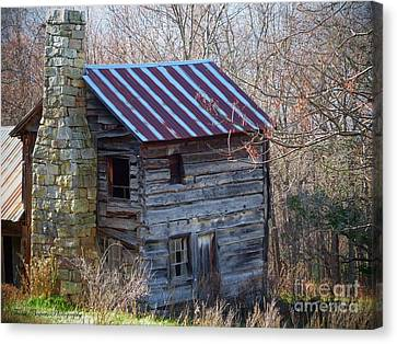 Dolly's Hearth - Pendleton County West Virginia Canvas Print by Teena Bowers