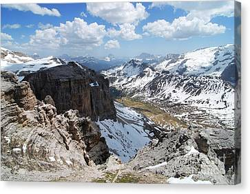 Dolomites Canvas Print by Roberto Prusso