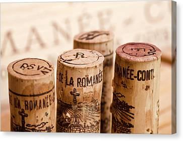 Domaine De La Romanee-conti Canvas Print by Frank Tschakert