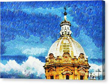 Dome Canvas Print by Stefano Senise