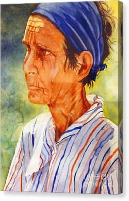 Donna Maria Canvas Print by Estela Robles
