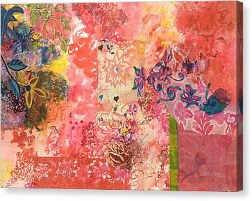 Don't Send Me Flowers IIi Canvas Print by Gloria Von Sperling