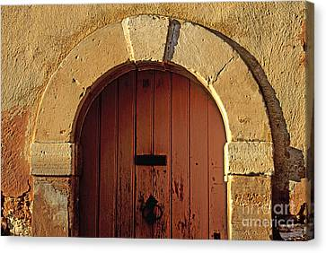 Door Canvas Print by Bernard Jaubert