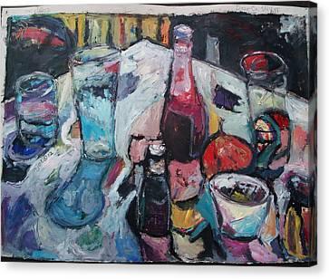 Door Co Stillyf Canvas Print by Mykul Anjelo