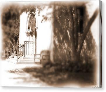 Door To Yesterday Canvas Print by Lauren Radke