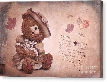 Dorothy In Love Canvas Print by Angela Doelling AD DESIGN Photo and PhotoArt