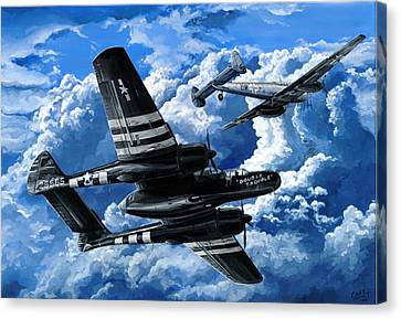 Double Trouble Canvas Print by Charles Taylor