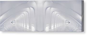 Doubled Arches Canvas Print by Scott Norris