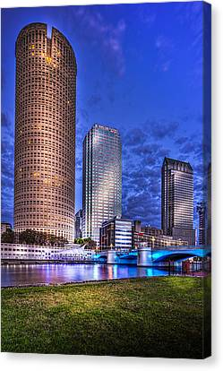 Down By The River Canvas Print by Marvin Spates