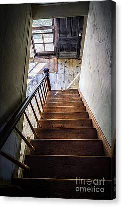 Downstairs Canvas Print by Scott Thorp