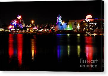 Downtown Disney  Canvas Print by David Lee Thompson
