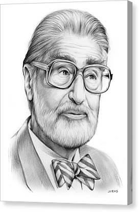 Dr. Seuss Canvas Print by Greg Joens