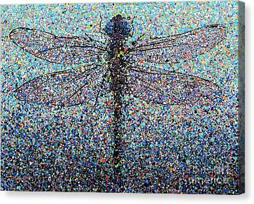 Dragonfly #1 Canvas Print by Michael Glass