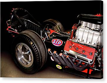 Dragster Canvas Print by Charlie Prenzi