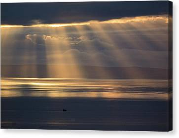 Dramatic Sky Canvas Print by Davorin Mance