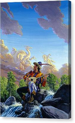 Dream Clouds Canvas Print by Richard Hescox