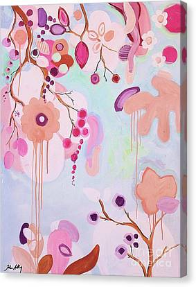 Dream Flowers Canvas Print by Jolina Anthony