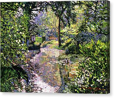 Dream Reflections Canvas Print by David Lloyd Glover