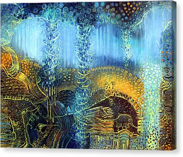 Dream Spinner Canvas Print by Lolita Bronzini
